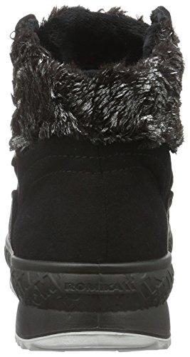 ROMIKA Davos 29, Bottes courtes avec doublure chaude femme Noir - Noir