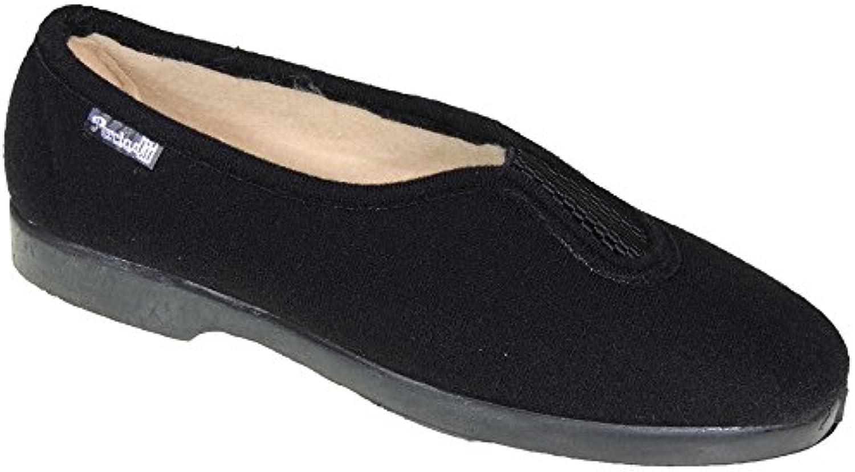 PERCLA. Zapatilla Invierno Llana Elástico para Mujer - Modelo 0903