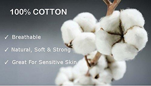 Luxus Comfort Wickeltuch Decke 100% Baumwolle Moon und Star weiß