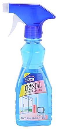 Lyra Crystal Glass Cleaner - 250 ml (Blue)