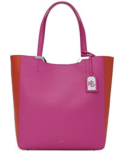 lauren-ralph-lauren-acadia-tote-pink-hibiscus-sunkist-grosse