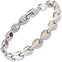 Damen Magnetisch bracelets-all sizes-4in 1Damen Magnet Armbänder Schmerzen, Arthritis Karpaltunnelsyndrom Sehnenscheidenentzündung... preisvergleich bei billige-tabletten.eu