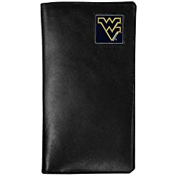 NCAA West Virginia Mountaineers Tall Leather Wallet