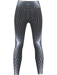 Viper Leggings sehr dehnbar für Sport, Gymnastik, Training & Fashion Grau