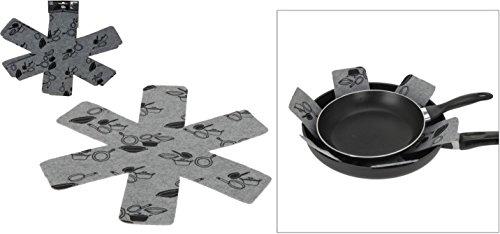 Pfannenschutz 3er Set (3 x 38,5cm)