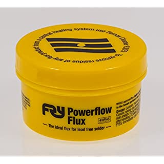 Solder Connection 20437 Fry's Alpha Power flow Plumbing Flux, 100 g