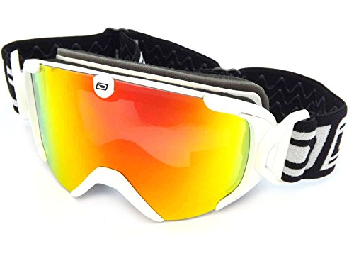 Dirty Dog Stampede Snow Goggles - White