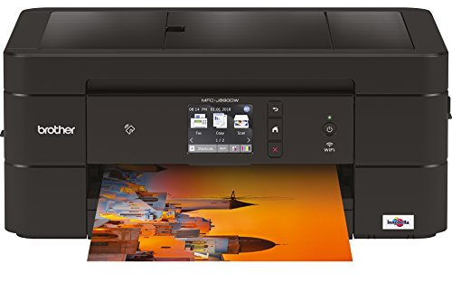 Brother MFC-J890DW 4-in-1 Tinten-Multifunktionsgerät, schwarz - Design-software Home Easy