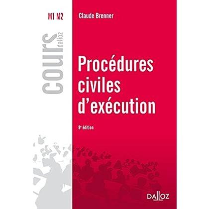 Procédures civiles d'exécution - 9e éd.