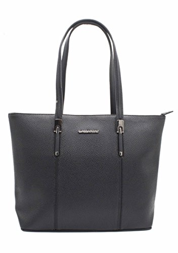 Gallantry, Borsa tote donna nero nero Nero