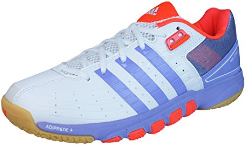 adidas Quickforce 7 Zapatillas de bádminton para mujer - Blanco