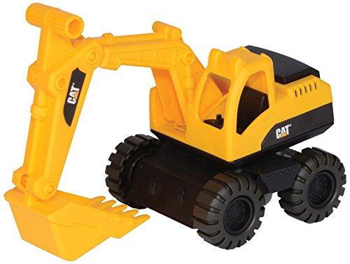 Crayola Cat Vehículo de Obras públicas y construcción  Mini Workers Excavadora