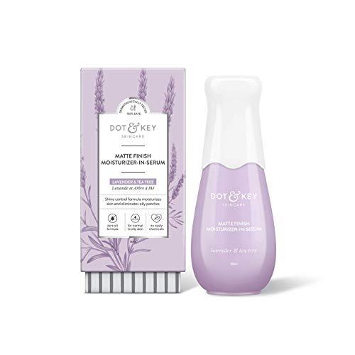 Dot & Key Mattifying Moisturizer Face Serum, with Lavender Oil, mattifying moisturizer + face serum for oily skin - Paraben Free