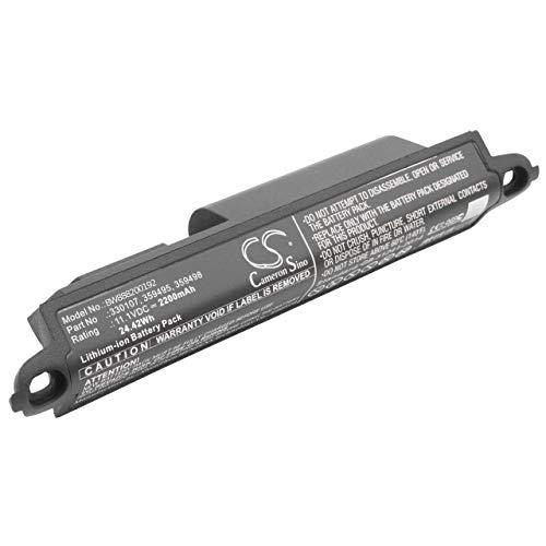 vhbw Li-Ion batteria 2200mAh (11.1V) per casse altoparlanti e speaker Bose Soundlink 3, 404600
