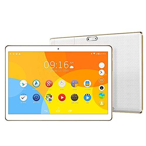 "samLIKE 10,1 \""Zoll MTK6592 Octa Kern 4G + 64G Android Telefon Pad Wifi Phablet Tablet PC (Weiß)"