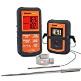 ThermoPro TP-08 Digital Wireless Remote Meat Food Thermometer with Dual Probe for Kitchen Cooking, BBQ Smoker Grill Oven - Monitors Food Temperature From 300 Feet Away, Batteries Included