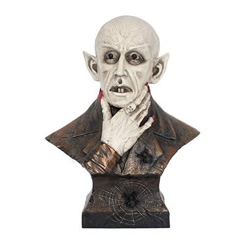 NN Deko Vampir Dracula Büste Figur Nosferatu Horror Halloween Gothic 666 Dekoration