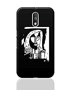 PosterGuy Moto G4 Plus Covers & Cases - Stay Happy Painting   Designed by: Derek M
