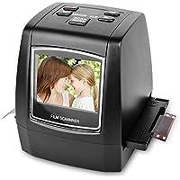 DIGITNOW! Tragbarer hochauflösender 22MP All-In-1-Film- und Diascanner für Super-8-Filme, 35-mm-Dias und -Negative, 110 und 126 Film-zu-Digital-Konverter