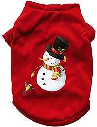 Ropa para Mascotas,Gusspower Navidad pequeños Perros Mascota Ropa Camiseta Cachorro Traje de Invierno Papá Noel y muñeco de Nieve