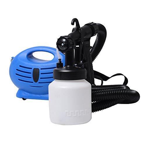 Homcom 650 W eléctrico de pintura Auto sistema avanzado privado para herramientas