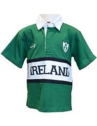 New Kids Panel de Irlanda Rugby camiseta (6/12mt–11–12yrs)