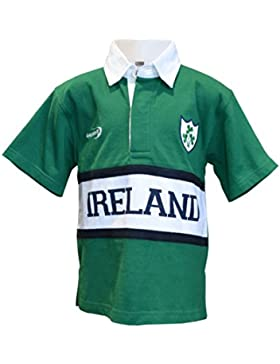 Lansdowne New Kids Panel de Irlanda Rugby Camiseta (6/12mt–11–12yrs)