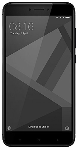 Redmi 4 (Black, 64GB)