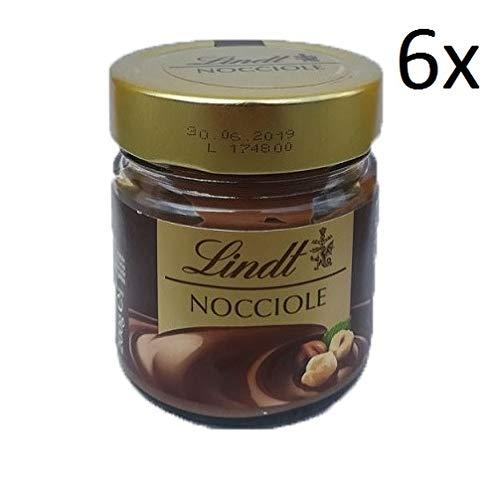 6x Lindt Haselnuss Schokolade aufstrich Brotaufstrich creme 200g Italienisch (Lindt Schokolade Gourmet)