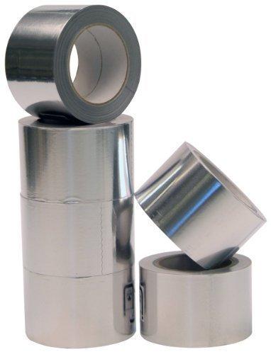 Aluminium Klebeband 50mmx50m 1 Rolle Profi-Qualität Isolierband Abdichtband Aluminium-Klebeband