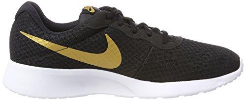 Nike Damen Tanjun Sneaker Schwarz (Black/metallic Gold 004)