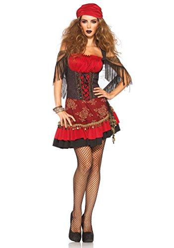 Karneval-Klamotten' Kostüm Zigeunerin Dame Luxus Karneval Marktfrau Damenkostüm Größe 40/42