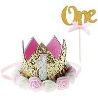 CPP9 Cappellini Compleanno Mostri Coni Simpatici Colorati Festa Compleanno Par