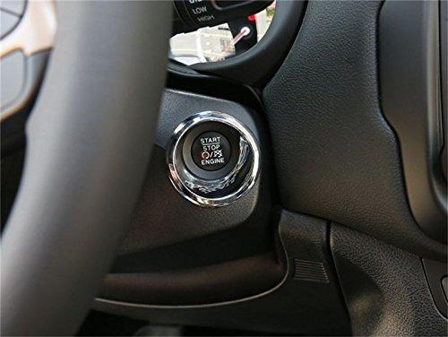 Preisvergleich Produktbild Auto Start stoppen dekorative Rahmen Abdeckung dekorative Zierleiste Innenausstattung Auto Gadget für Jeep Renegade 15-16 1 pcs