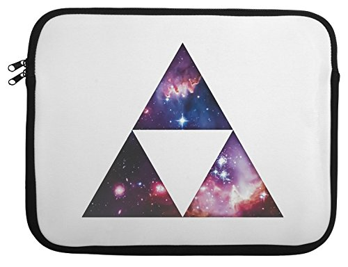 Cosmic Triforce Laptop Case 13