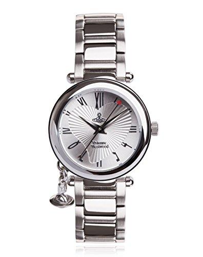 Vivienne Westwood - Orologio da polso, Donna, bracciale in acciaio inossidabile, argento