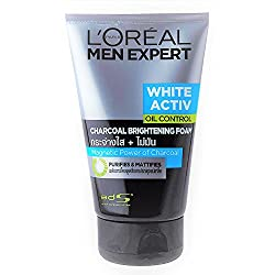 Loreal Men expert White Active Oil Contro Charcoal Brightening Foam 100 mL