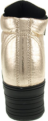 Maxstar  C50-Taller, Chaussons montants femme Or - TC-Gold