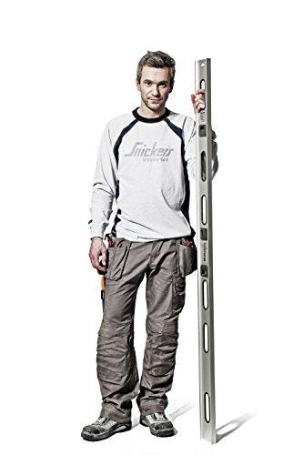 Snickers Workwear Arbeit–pantoloni, rot, 32121604158 ozean-schwarz