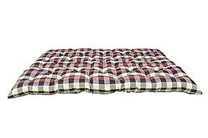 Ponperi Soft Cotton Filled Multicolour Mattress | Gadda (Sleeping Capacity - 4 x 6 ft or 72 x 48 Inch)