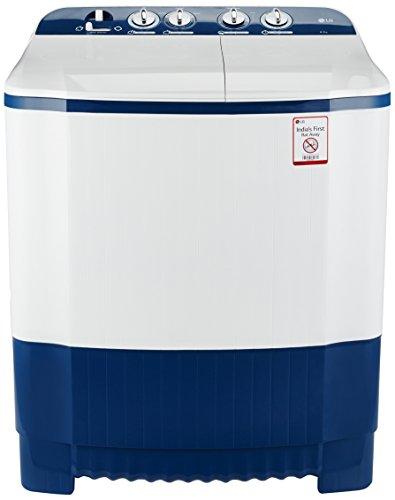 LG 6.2 kg Semi-Automatic Top Loading Washing Machine (P7252N3FA, Dark...