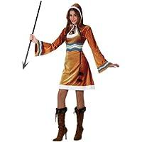 Atosa - Disfraz de esquimal para mujer, talla M/L (16450)