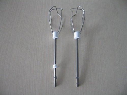 Rührbesen / Rührhaken für Bosch (MFQ2...,) / Siemens (MQ90..., MQ 93..., MQ94...) Handrührgerät