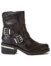 Amazon.es  GUESS - Cremallera   Botas   Zapatos para mujer  Zapatos ... 09702dd047f36