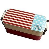 Preisvergleich für Lunch Box, BPA-Frei All-In-One Stapelbar Bento Box Für Kinder Kid 850Ml