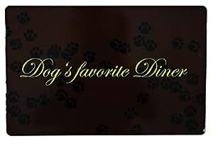 Place mat Dog's favourite Diner, 44 × 28 cm