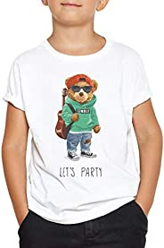Okdok Boys T-Shirt Lets Party | Music Bear Fashion | Orso musicale Design
