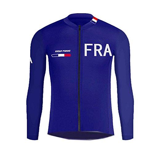 Uglyfrog 2018 Nouveau Hiver Vêtements de Cyclisme Thermique Polaires Sports de Plein air Hommes vélo Maillot vélo à Manches Longues de vélos DSRET05