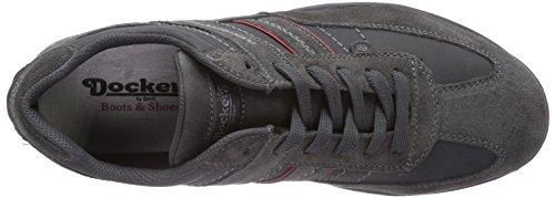 Dockers by Gerli 36HT001-207220, Chaussures de sports extérieurs homme Noir (asphalt)