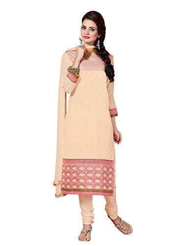 Pahal Fashion Women's Pure Cotton Salwar Suit Dress Materials